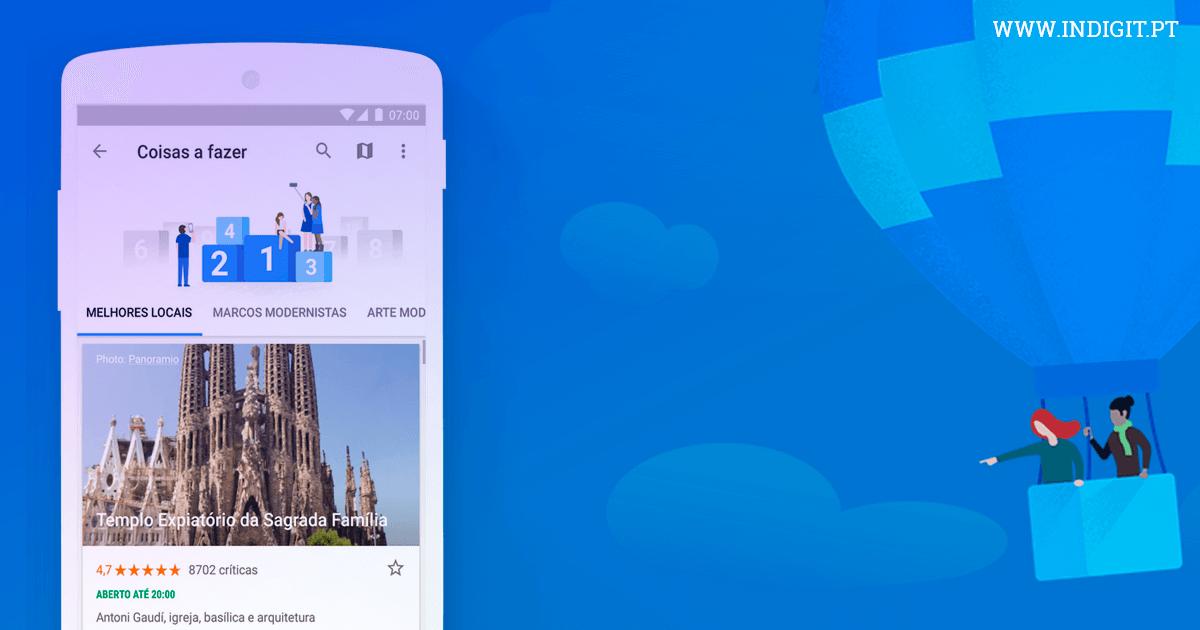 Google lança novas ferramentas de planeamento de viagens
