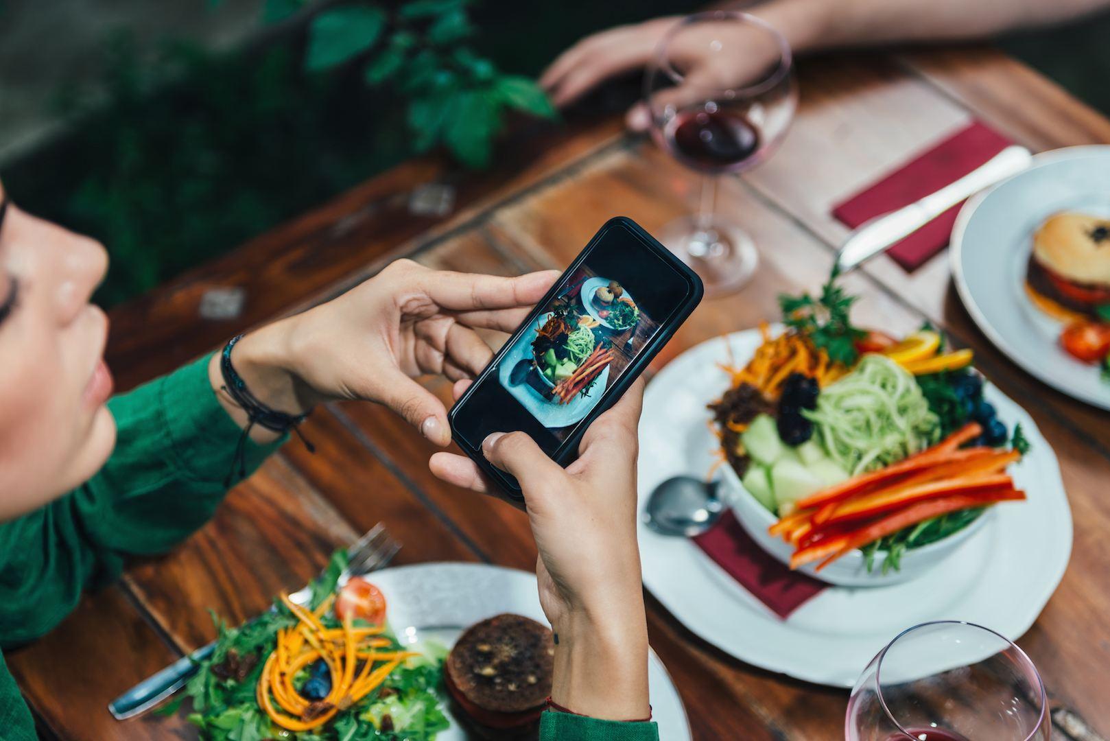 Toda a gente gosta de ver fotos de comida nas redes sociais