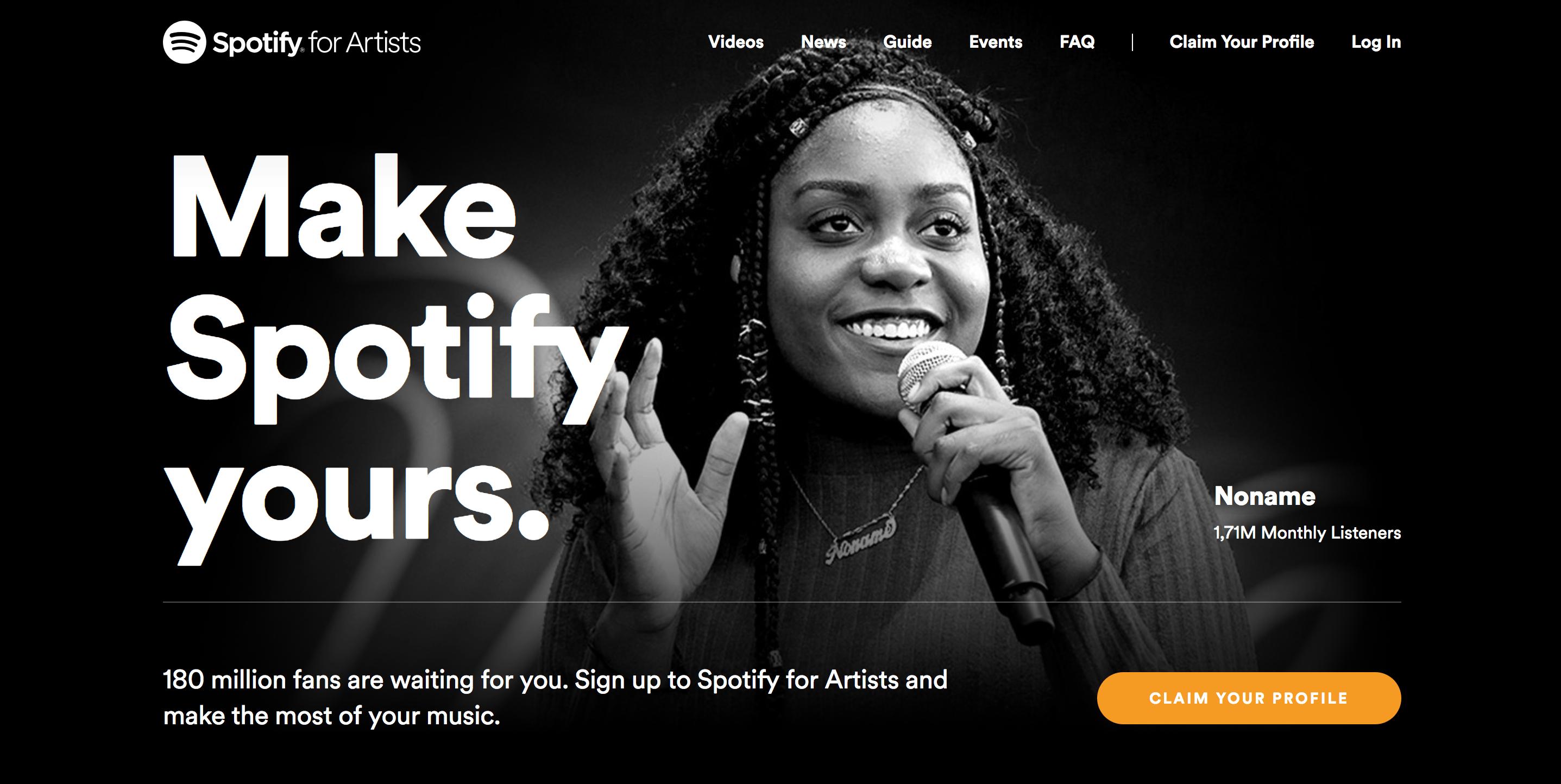 O Spotify para Artistas vai ter novas funcionalidades