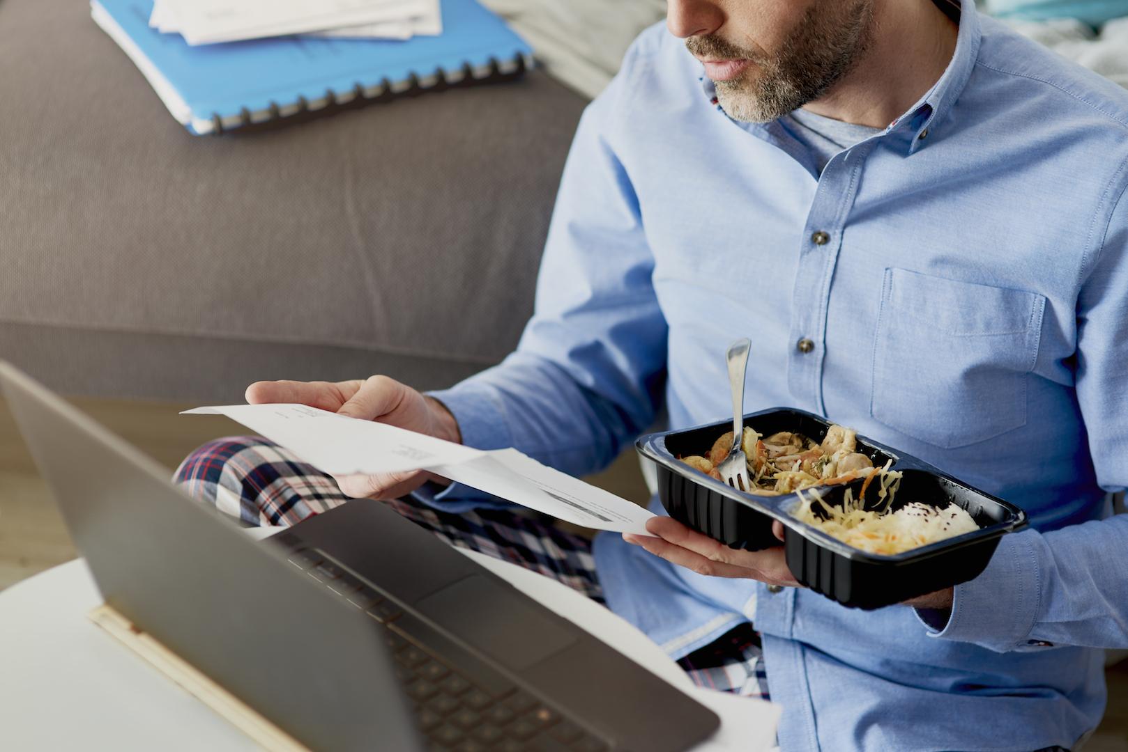 Mantenha refeições saudáveis pela sua saúde