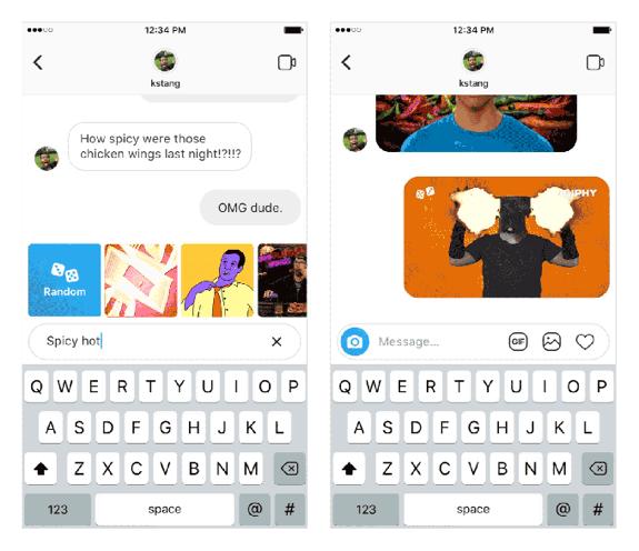 GIFs em mensagens privadas será realidade