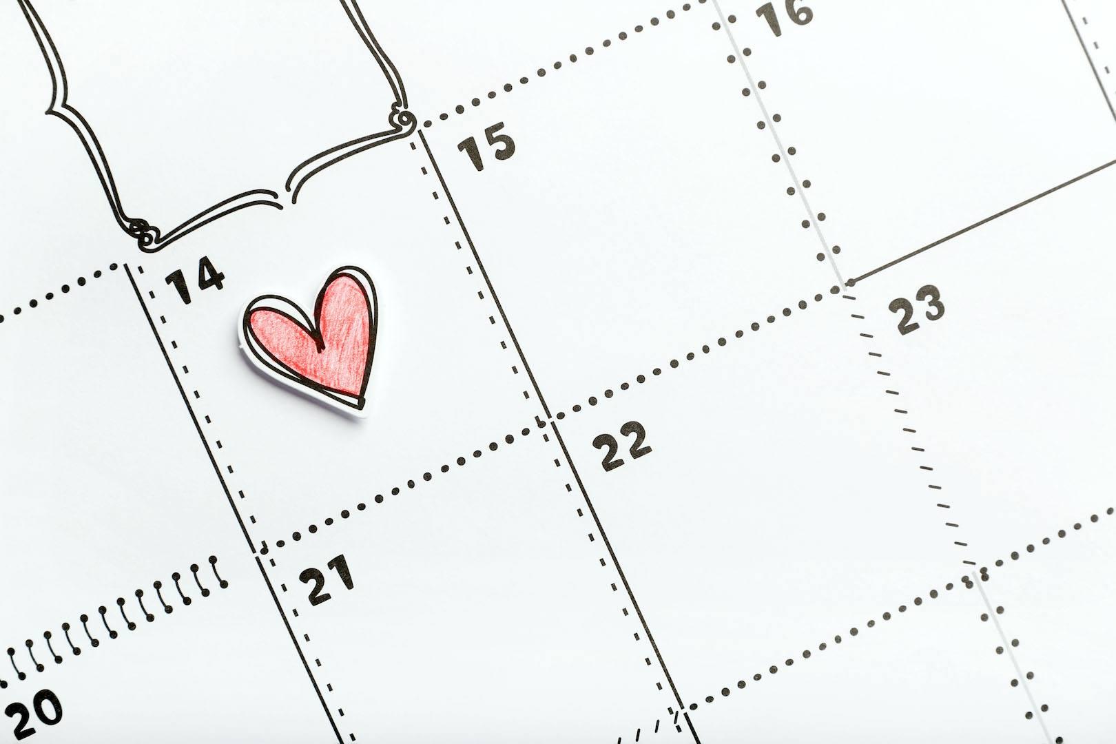 O Dia dos Namorados assinala-se a 14 de fevereiro em Portugal