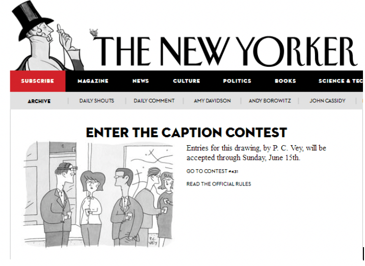 The new yorker contest