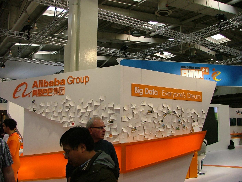 Grupo chinês Alibaba está a crescer