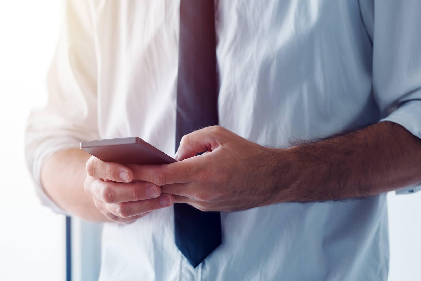Taxas de resposta em aplicações de troca de mensagens são muito altas