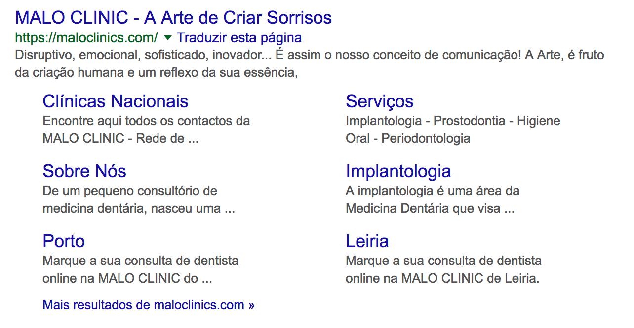 Ter a descrição dos serviços da sua clínica é importante