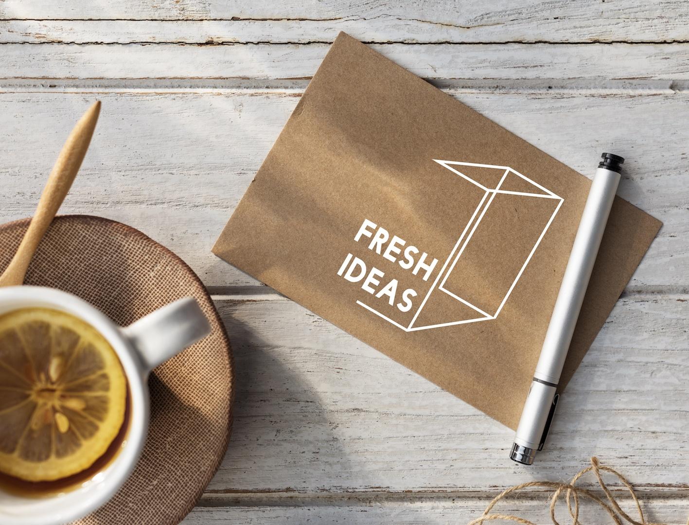 Pensar fora da caixa é a solução para chegar ao nome ideal