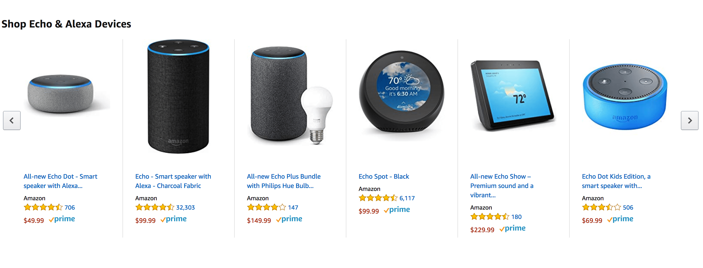 A Alexa, da Amazon, é um sucesso de vendas