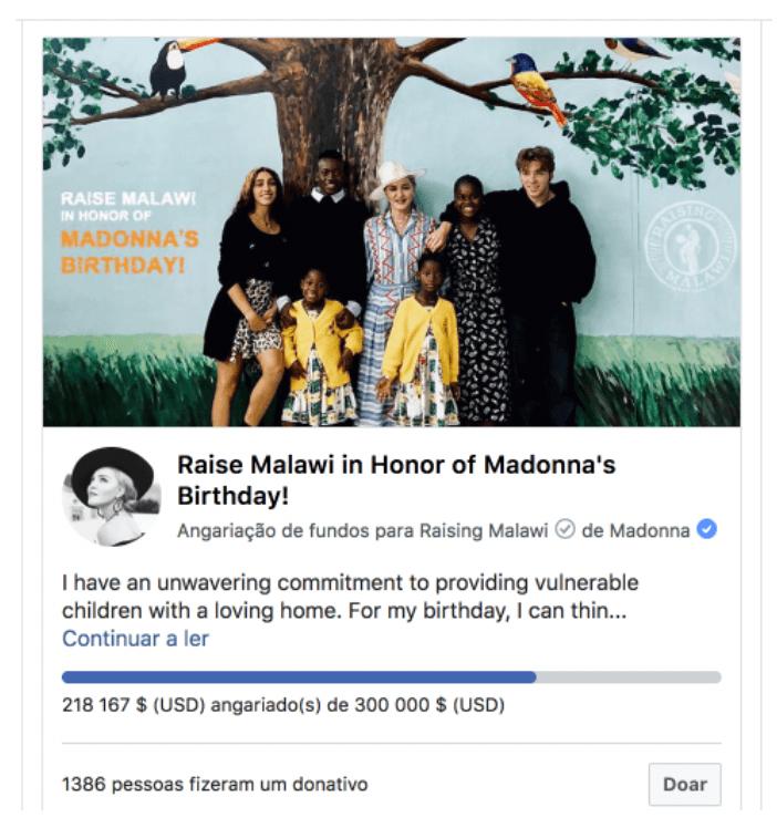 Facebook Fund Raiser