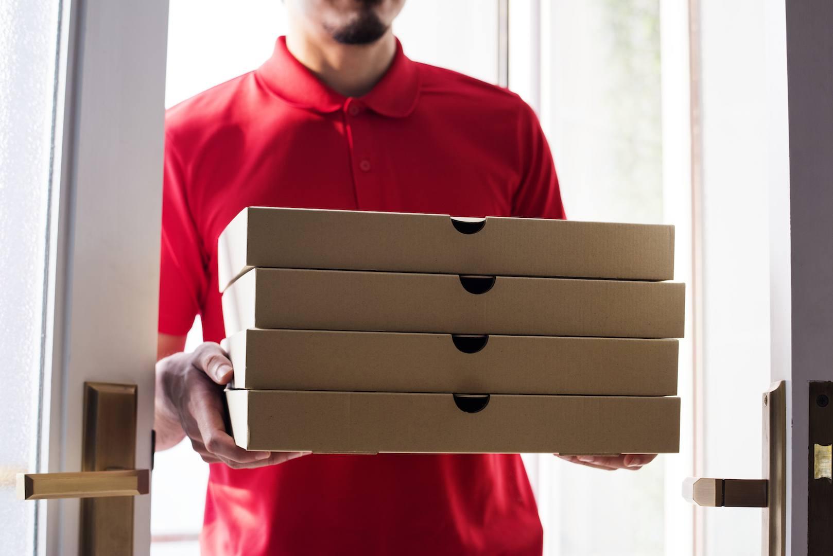Encomende online e receba a sua refeição em casa