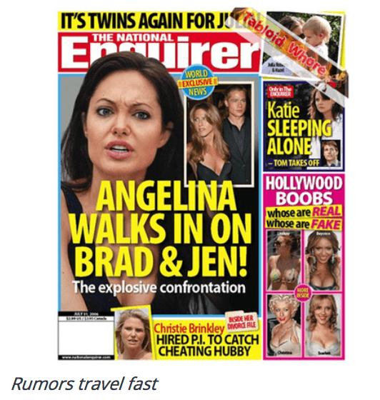 Rumors Angelina