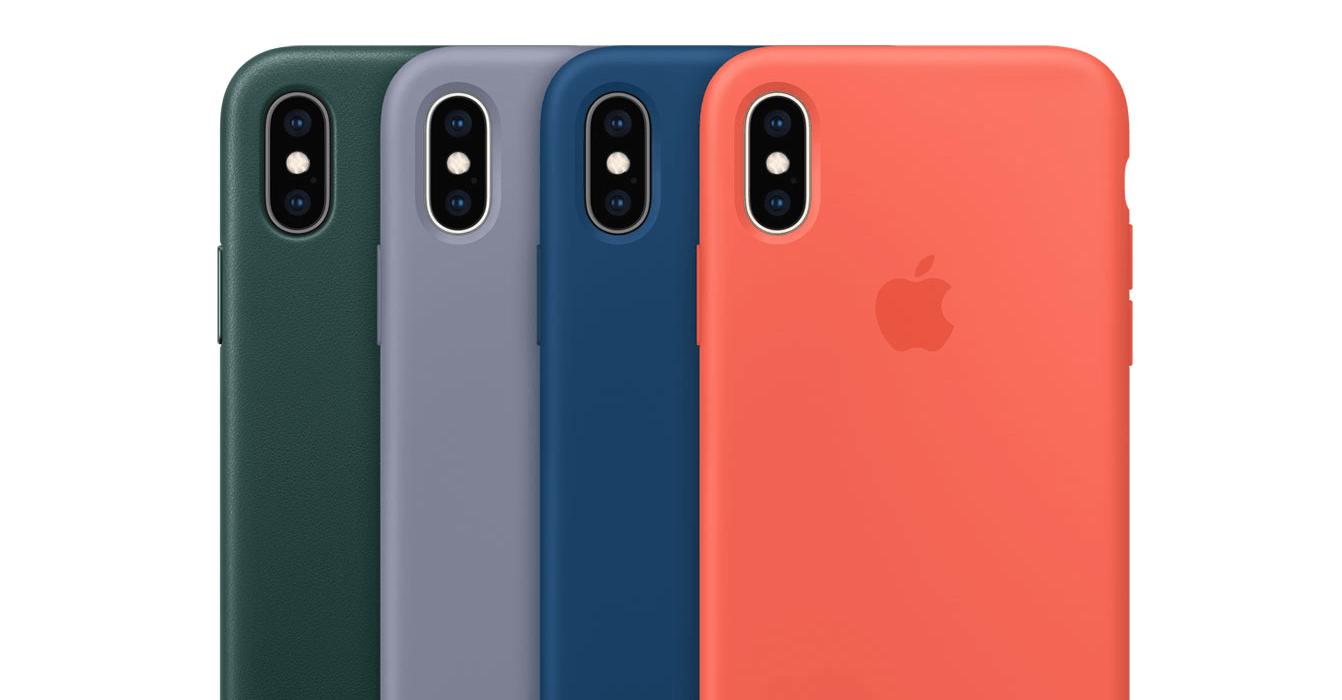 O iPhone XS só está disponível em três cores