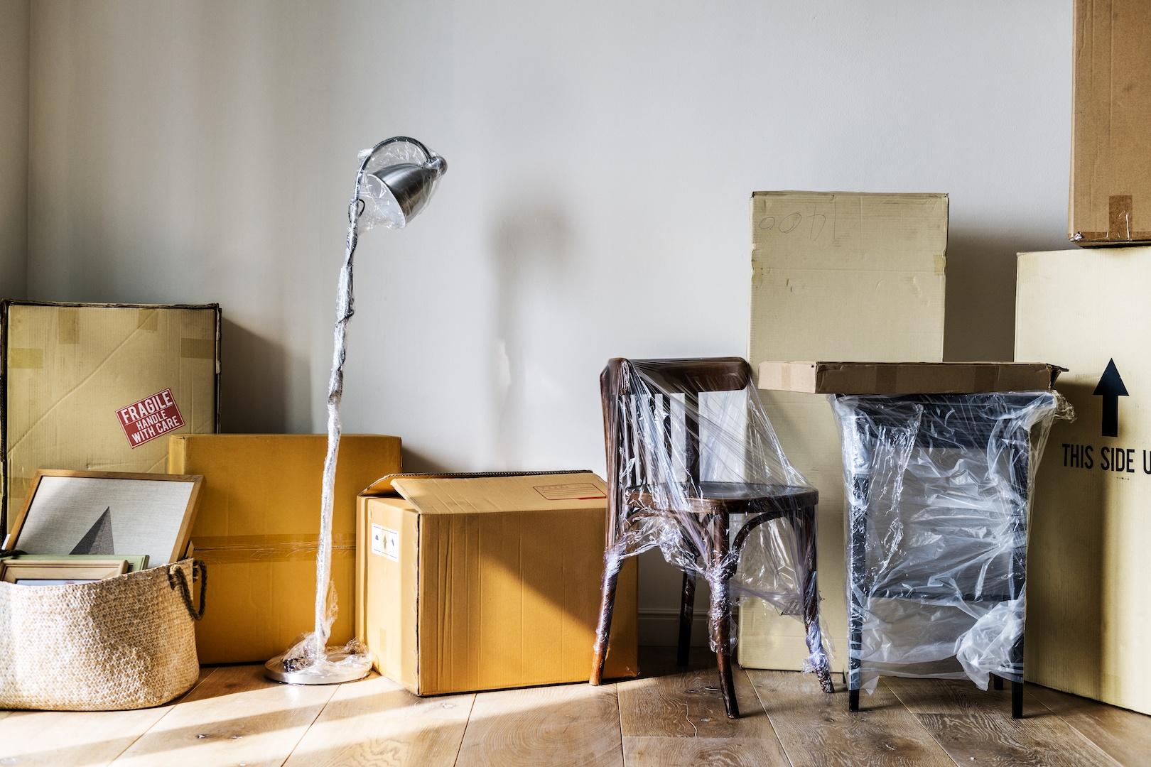 Compra de móveis na internet e entrega em casa