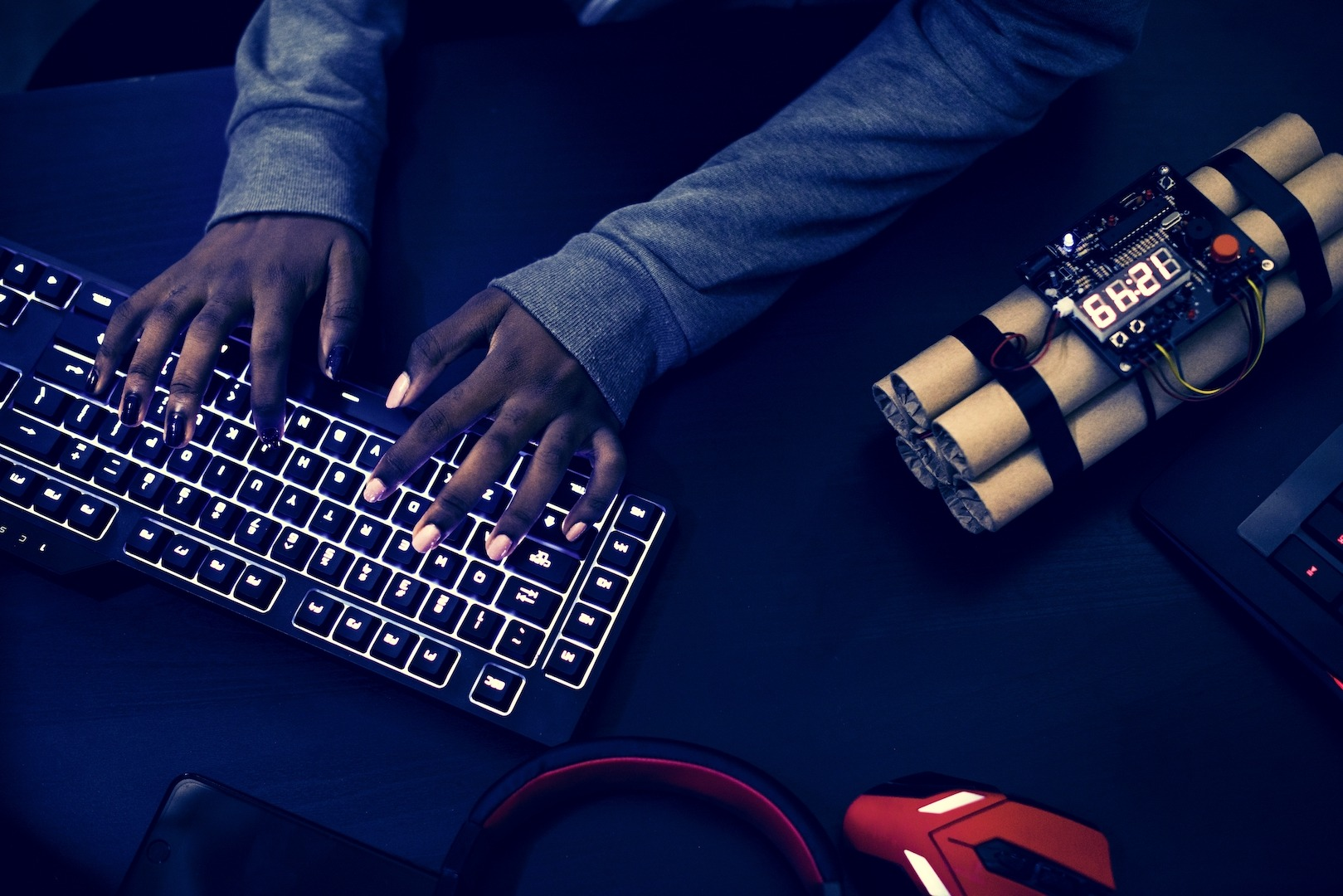 Hacker faz ataque phishing