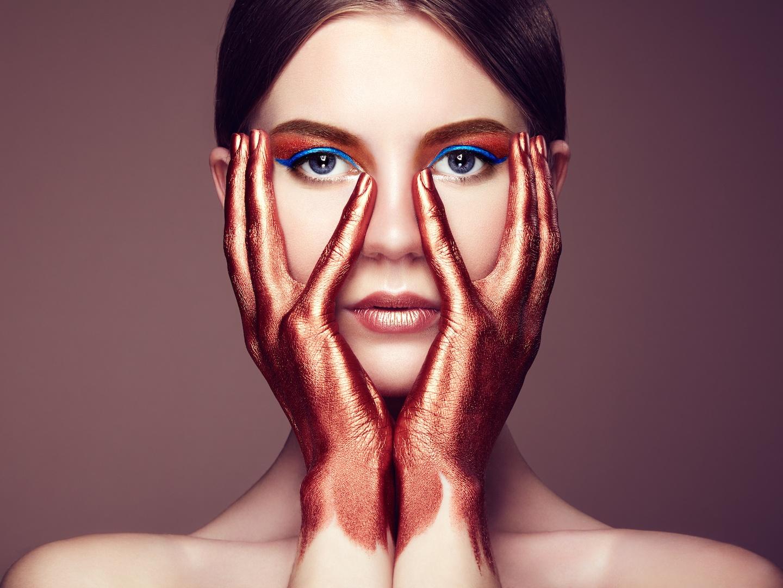 Makeup profissional para revista