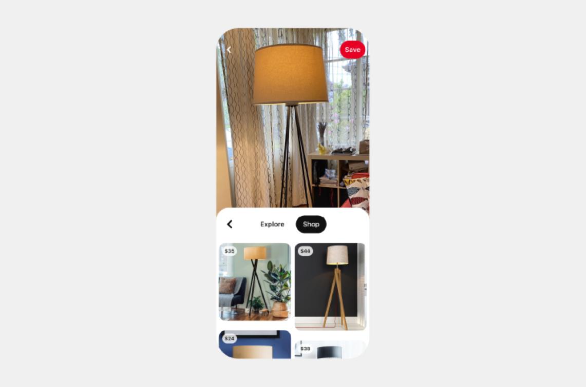 Agora pode pesquisar e comprar através de imagens