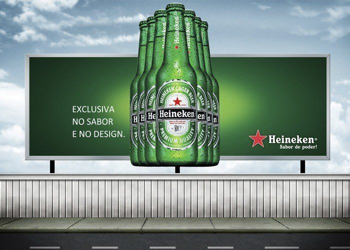 Outdoor Heineken