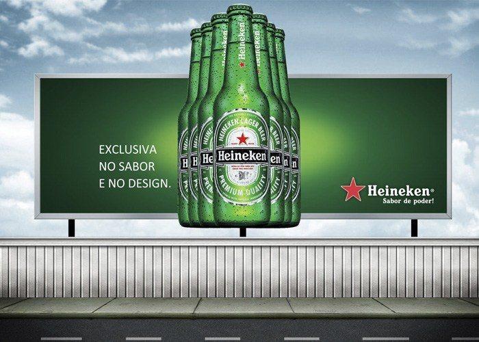 Outdoor Heineken