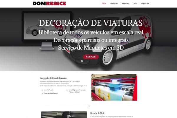 Domrealce Design Web Design Branding