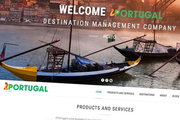 2Portugal Web Design Branding