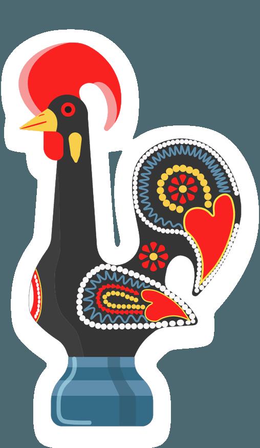 2 Portugal Cock