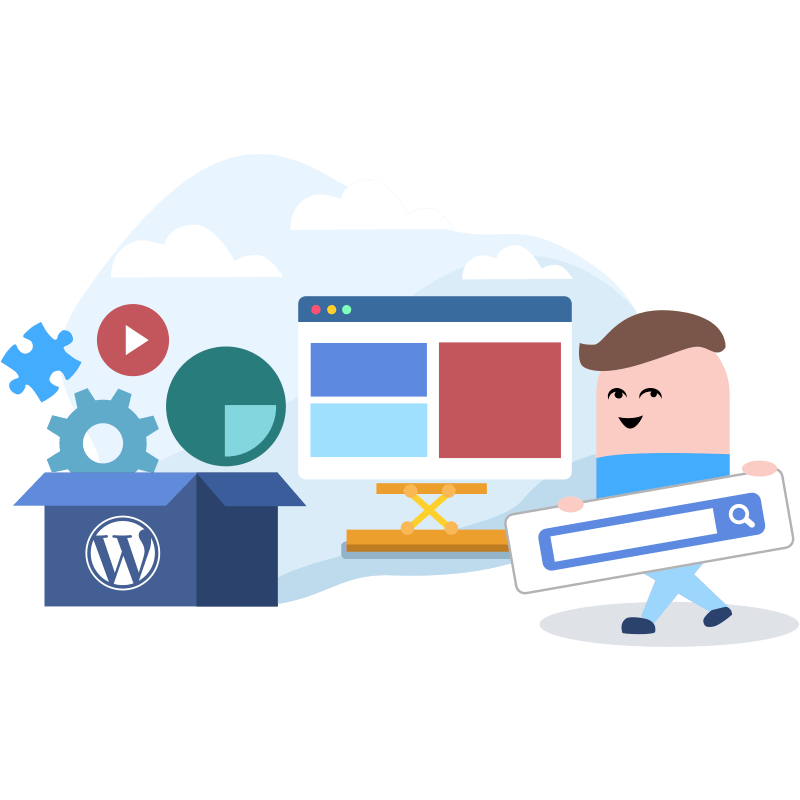 Sites CMs, Wordpress e Blogs
